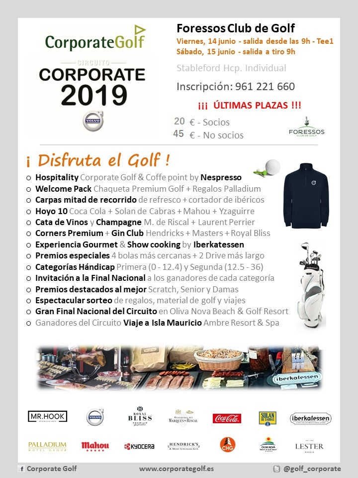 CORPORATE FORESSOS GOLF